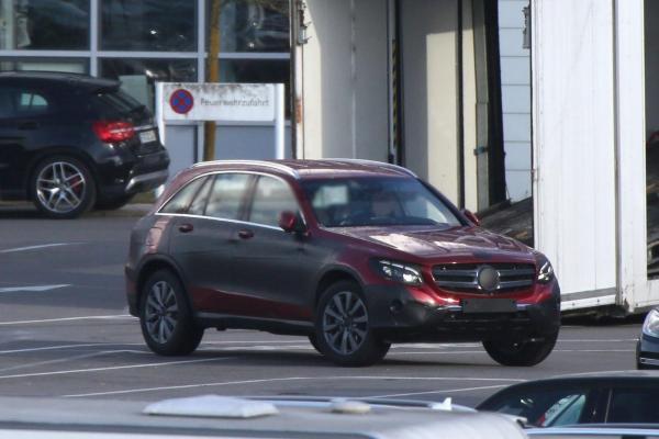 Mercedes-Benz GLC замечен на тестах