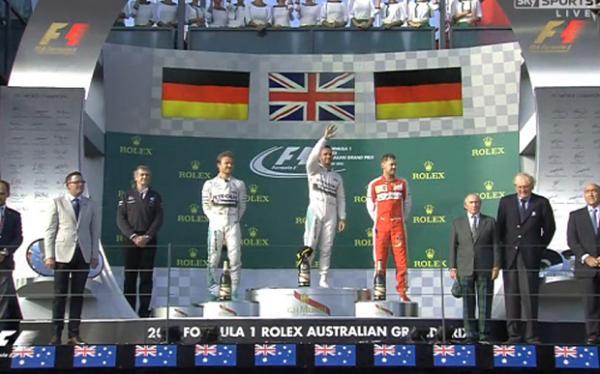Формула-1: Льюис Хэмилтон выигрывает Гран-при Австралии