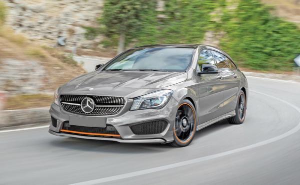 Mercedes-Benz CLA Shooting Brake: универсал в спортивном стиле