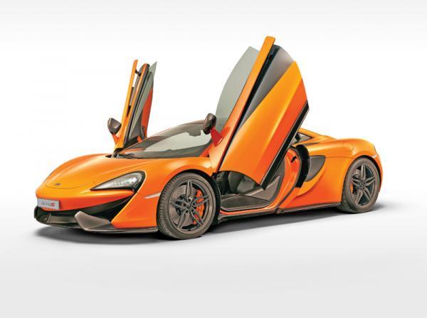 """McLaren 570S: младший член """"семейства"""""""