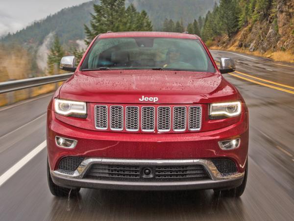 Jeep Grand Cherokee, Land Rover Discovery, Volkswagen Touareg: вседорожники премиум-класса