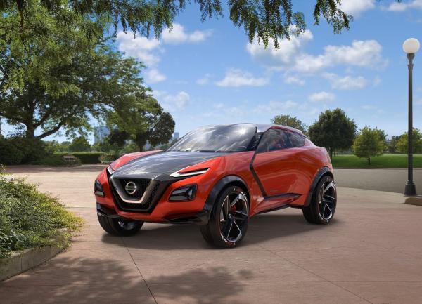 Nissan Gripz предваряет новый Juke