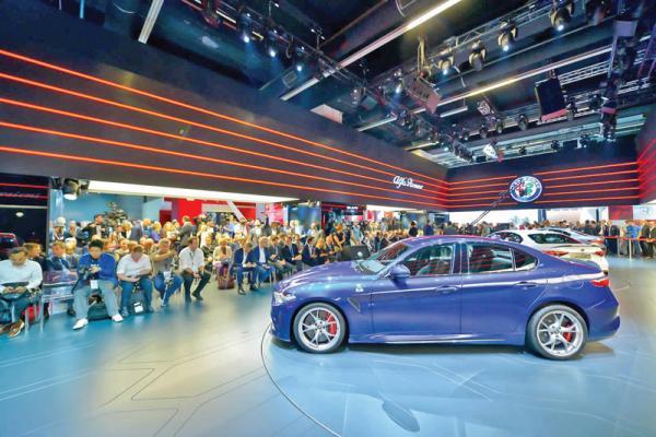 Франкфуртский автосалон IAA-2015: изобилие новинок (Часть 1)