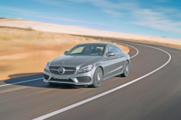 Mercedes-Benz C-Class Coupe: элегантный спортсмен