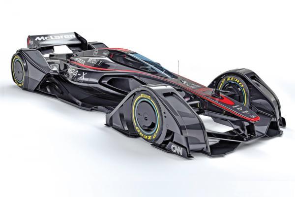 McLaren MP4-X: гоночный болид будущего