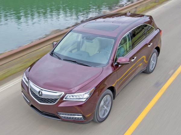 Acura MDX: обновление с упором на техническую составляющую