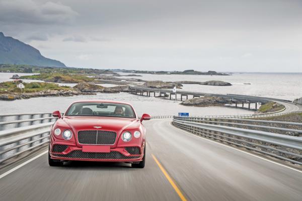 Bentley Continental GT: элегантный тяжеловес