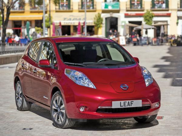 Nissan Leaf: модернизация