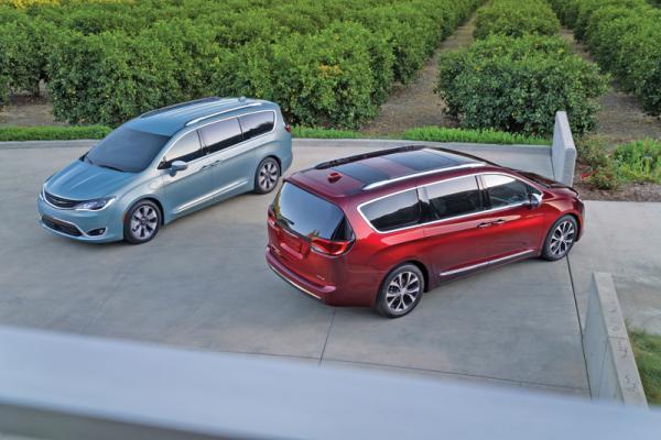 Chrysler Pacifica: смена названия и образа