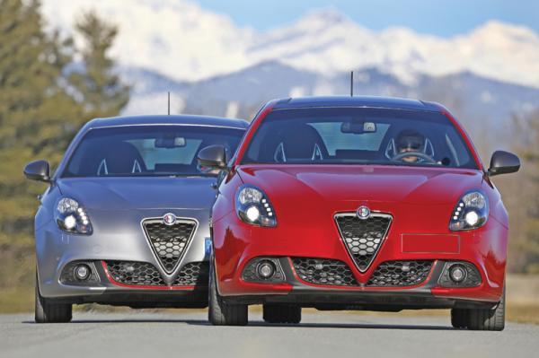 Alfa Romeo Giulietta: повторное обновление