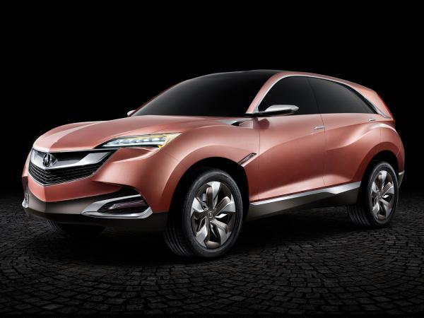 Acura представит компактный вседорожник