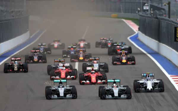 Формула-1: Нико Росберг победил в Гран-при России