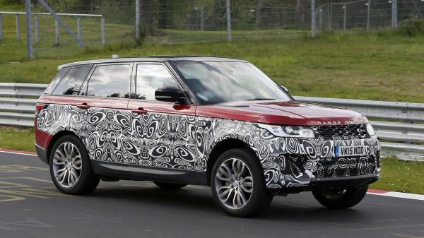 Range Rover Sport обновят