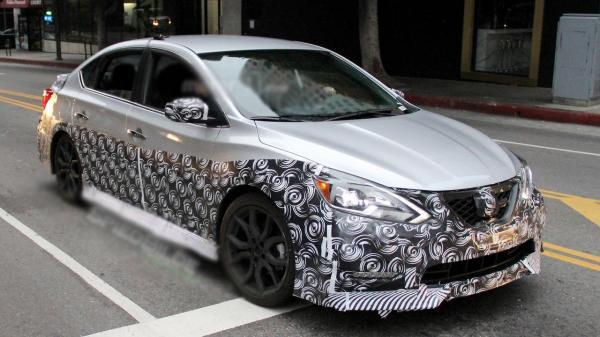 Nissan Sentra Nismo проходит тесты