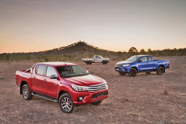 Toyota Hilux: дубль восьмой