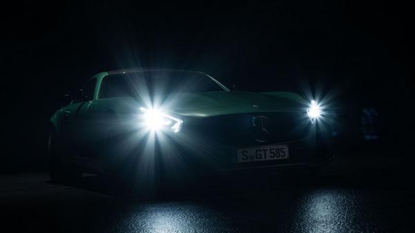 Mercedes-AMG GT R «засветился» перед премьерой