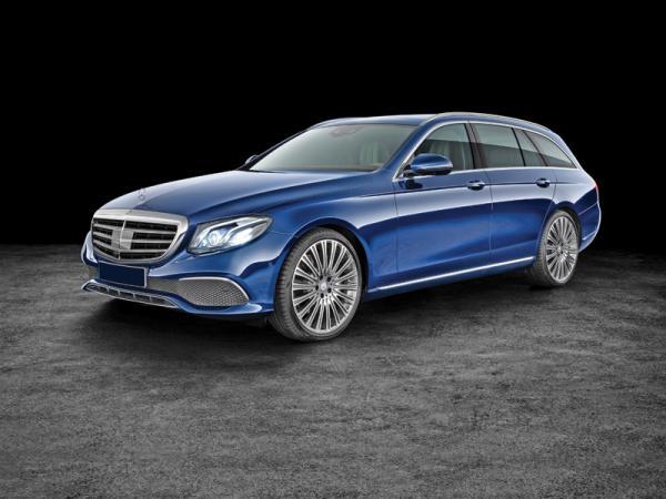Mercedes-Benz E-Class Estate: практично и стильно