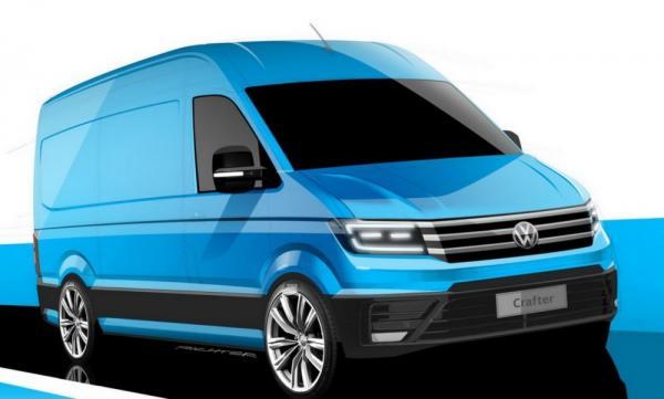 Новый Volkswagen Crafter покажут в сентябре