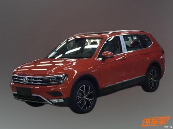 Volkswagen готовят семиместный Tiguan