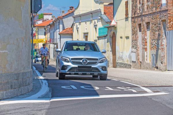 Mercedes-Benz GLC Coupe: смешение стилей
