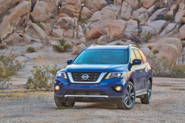 Nissan Pathfinder: обновление