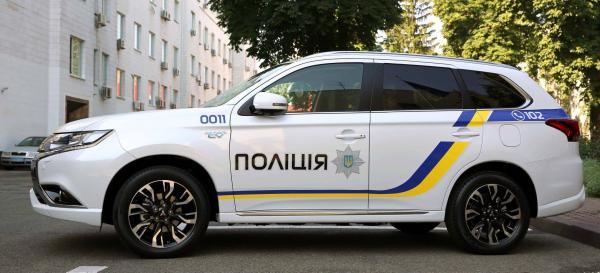 Полиция получит Mitsubishi Outlander PHEV