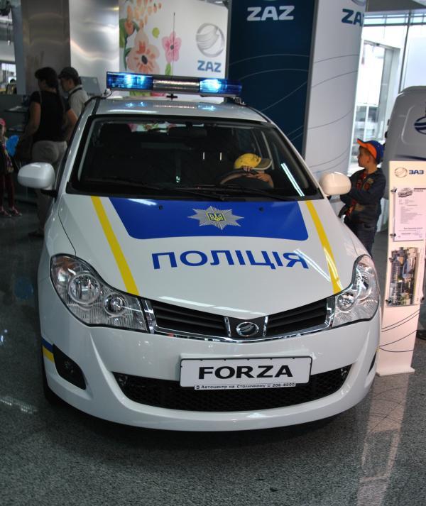 ЗАЗ пополнит автопарк полиции