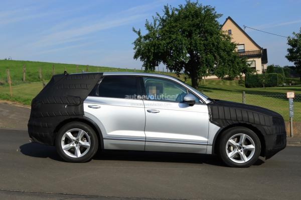 Новый Volkswagen Touareg замечен на тестах