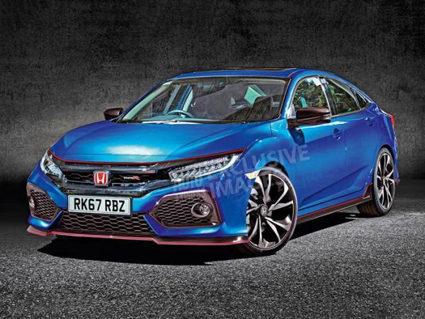 Прототип Honda Civic Type R покажут в Париже