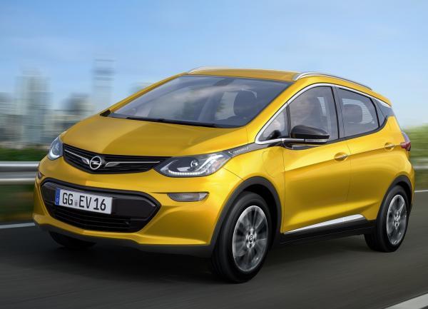Opel Ampera-e дебютирует на Парижском автошоу