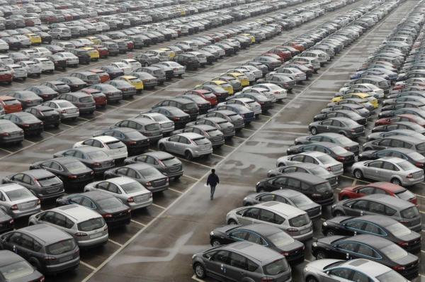 В августе авторынок Украины вырос на 62,5%