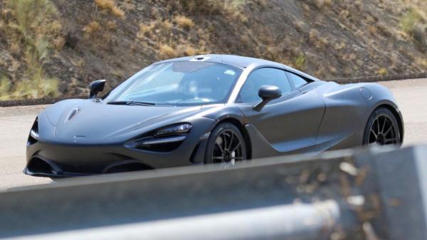 Наследник McLaren 650S замечен на тестах