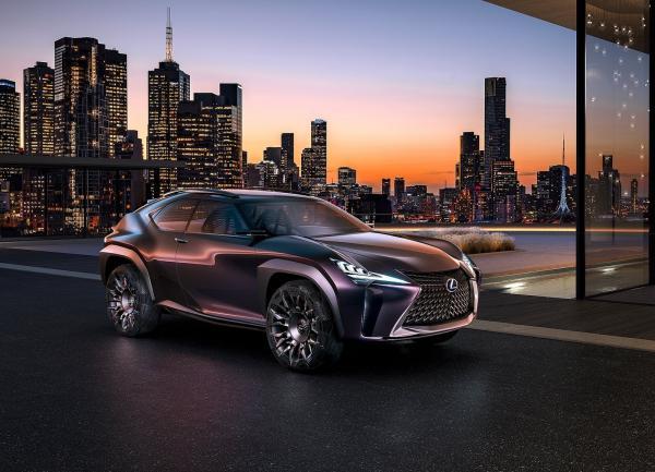 Lexus UX предваряет новый вседорожник