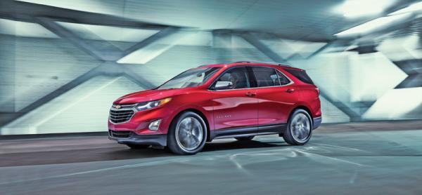 Chevrolet Equinox: смена приоритетов