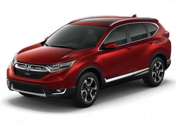 Новый Honda CR-V покажут в Лос-Анджелесе