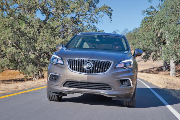 Buick Envision: заокеанский брат будущего Opel Antara