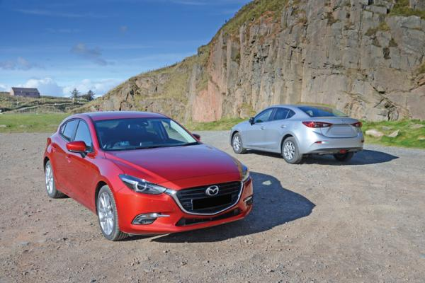 Mazda 3: маленькие перемены