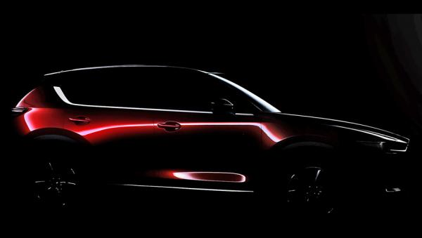 Новый Mazda CX-5 покажут в Лос-Анджелесе