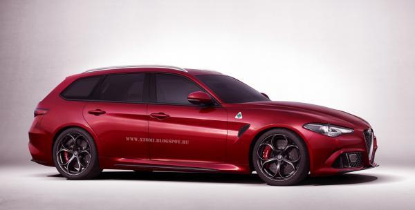 Alfa Romeo Giulia станет универсалом