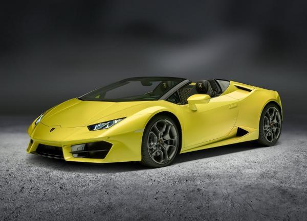 Lamborghini Huracan Spyder стал заднеприводным