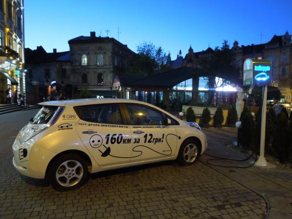 Спрос на электромобили в Украине вырос втрое
