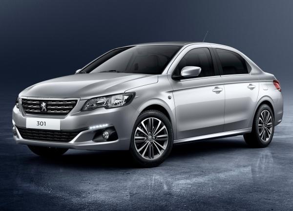 Седан Peugeot 301 прошел обновление