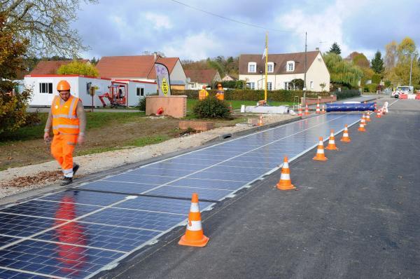 Новые дороги смогут вырабатывать электричество