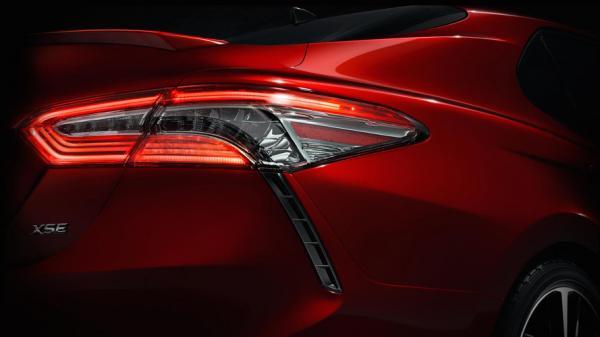 Новый Toyota Camry – первое фото