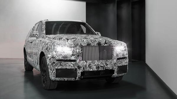 Rolls-Royce Cullinan появится в 2018 году