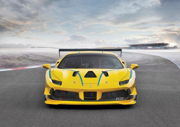 Ferrari 488 Challenge: турбо-сила для гонщиков-любителей