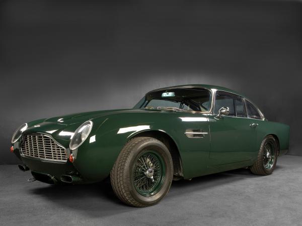 Купе Aston Martin DB4 GT вернут в производство