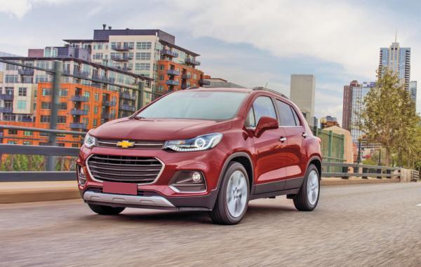 Chevrolet Tracker: повзрослевший
