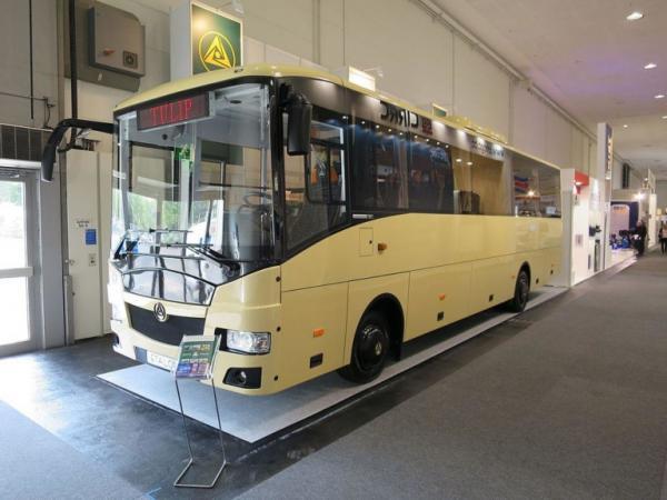 Новый автобус Эталон Тюльпан презентован в Киеве