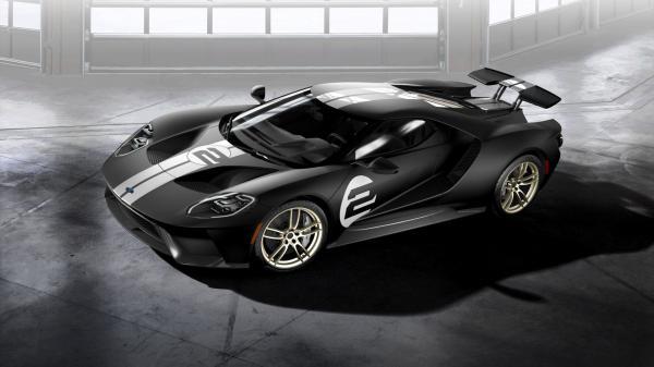 Опубликованы все характеристики купе Ford GT
